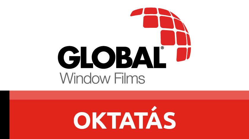 Global autóüvegfólia telepítői oktatás